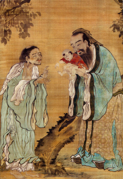 Buddha Confucius and Lao Tzu