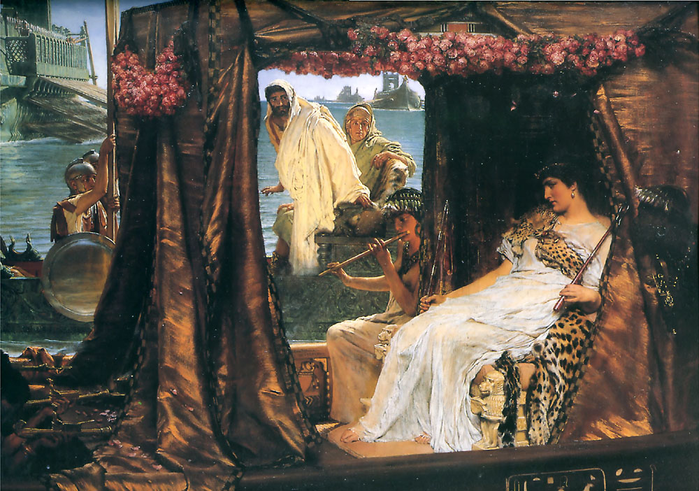cleopatra and mark antony Antony and cleopatra in the ruthless, ever-expanding empire of rome,  mark antony is a hero in a post-heroic world he is torn between duty and love.