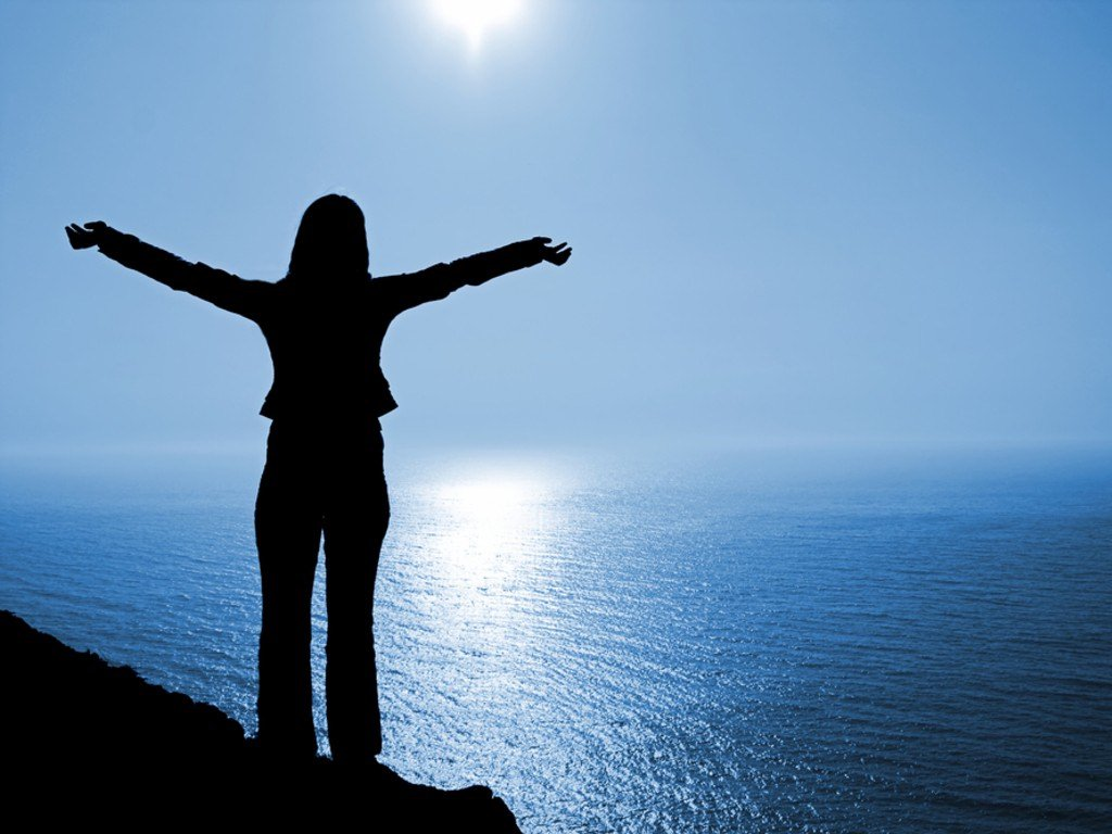 Woman of action alissa harway - On top of the world wallpaper ...