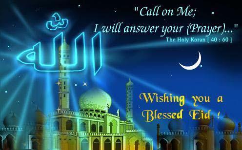 Eid al-Adha ~ Celebrating !!!