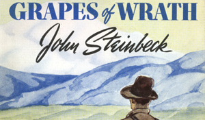 analisys of the novel the grapes of wrath written by john steinback John steinback's pulitzer prize  this completely updated viking critical library edition of the grapes of wrath includes the full text of the novel,  the grapes of wrath: text and criticism (9780140247756) by john steinbeck.