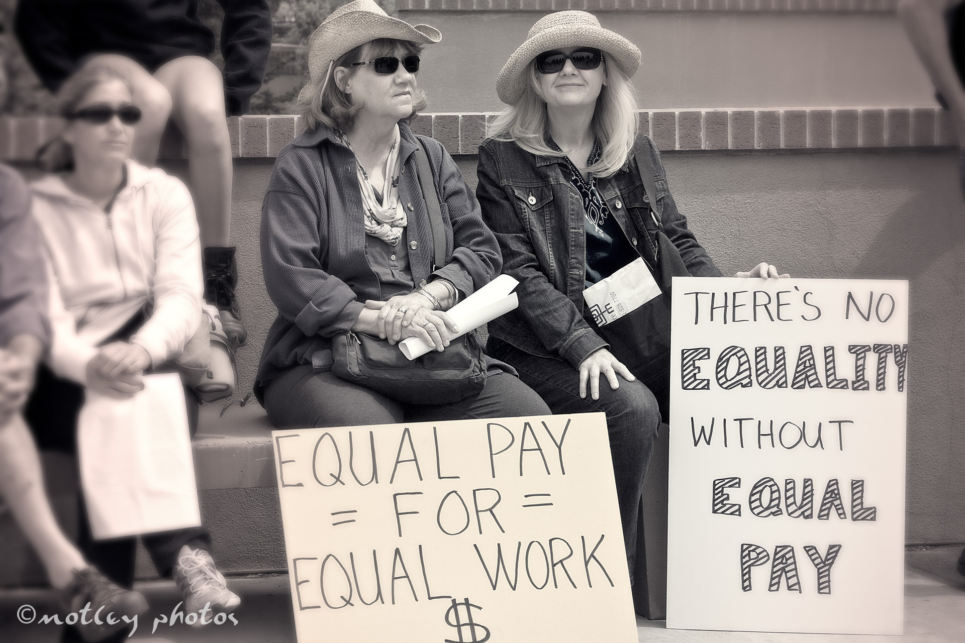 equal pay for women Many of the achievements that have been made for women's rights in the 20th century have been under attack by the republican party — denying women control over their own bodies, preventing access to vital medical and social services, and blocking equal pay for equal work.