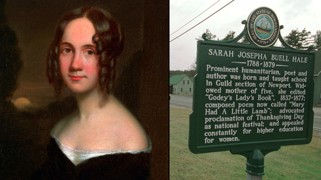 """sarah hale letter to lincoln rhetoric Thanksgiving may have remained a regional, ad-hoc holiday if not for the efforts of sarah josepha hale, a northern writer who is often considered the """" godmother"""" of hale's letter to president lincoln, stating that thanksgiving needs national recognition to become """"a national custom and institution."""