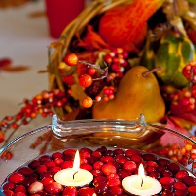 Thanksgiving 5 Ways To Use Cranberries In Centerpiece