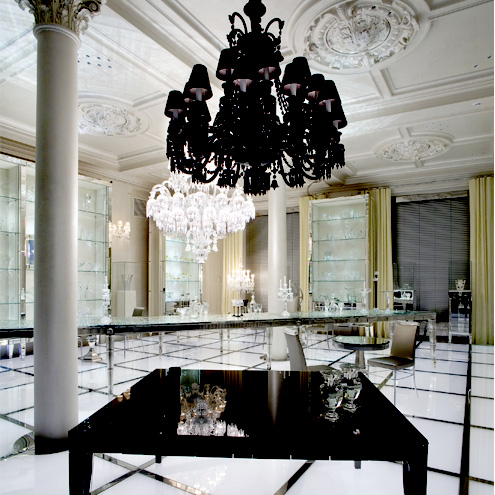 Baccarat opens in nyc hotel lorre white reports - Maison philippe starck ...