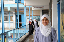 Girl from Gaza takes first prize in international maths competition