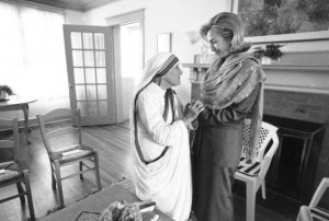 Hillary Mother Teresa