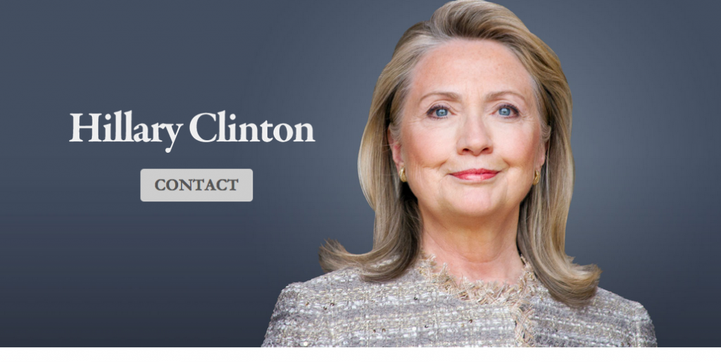 hillary new website