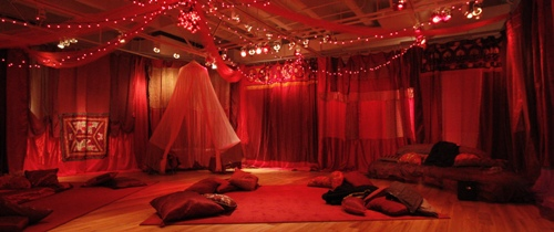 grail red tent temple