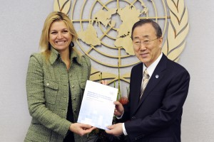 Secretary-General Meets  Princess of the Netherlands