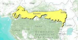 northern-congolian-forest-savanna-mosaic-map