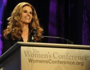 Maria-Shriver-CA-Womens-Conference