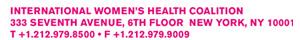 women health coalition footer-top