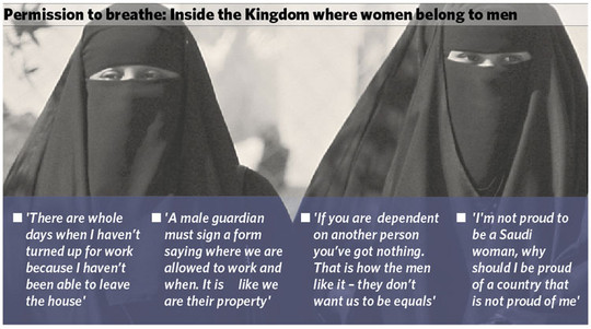 saudi women belong to men