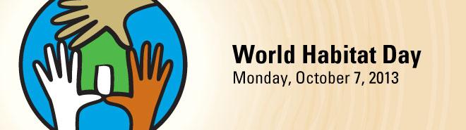 World Habitat Day 2013
