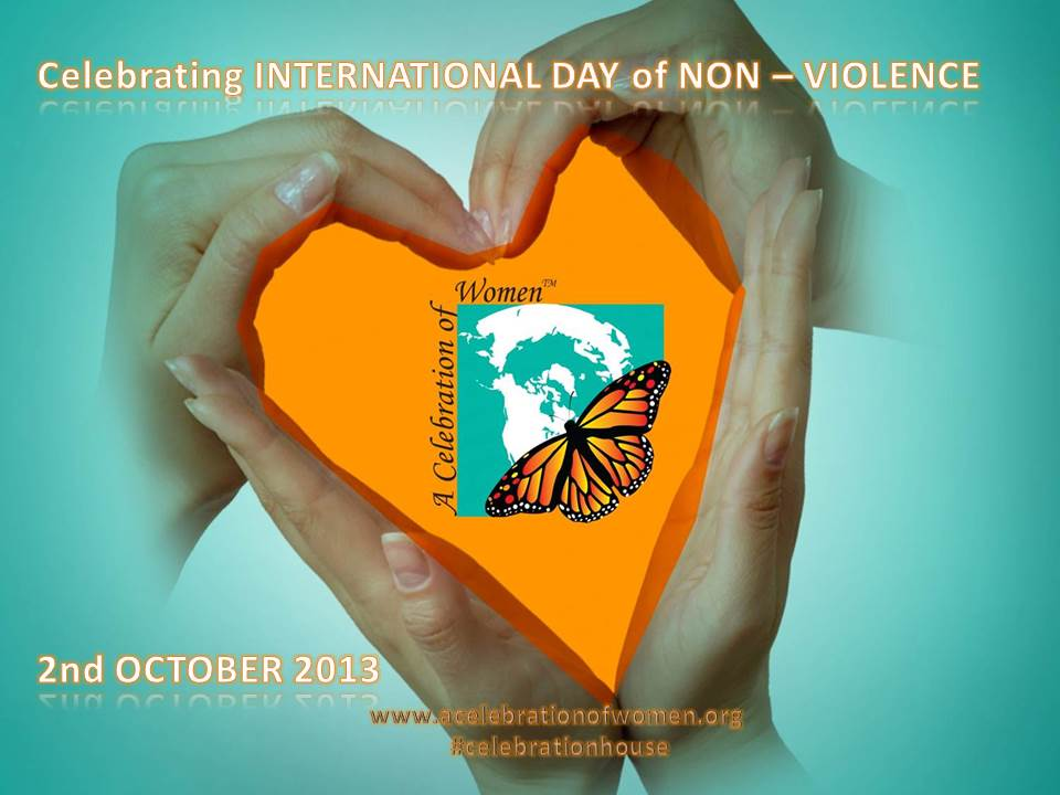 non violence day oct 2
