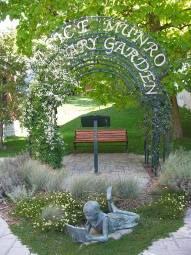Alice Munro Literary Garden