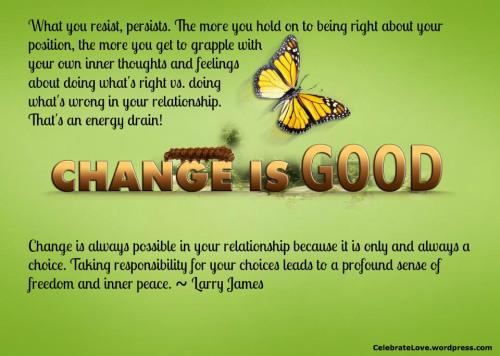 larry change is good