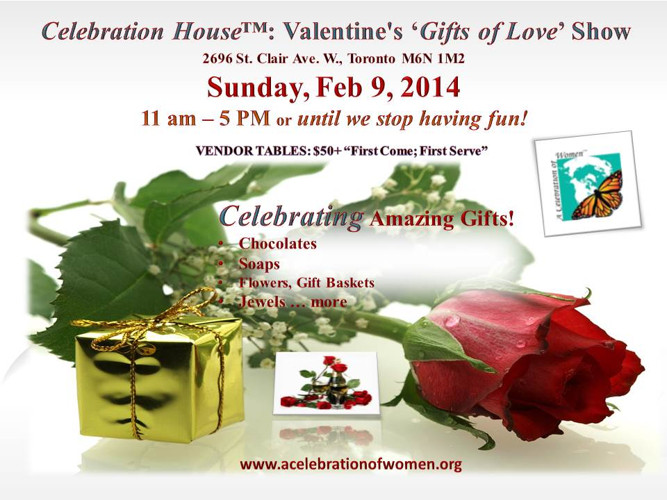 VALENTINE'S GIFTS OF LOVE SHOW
