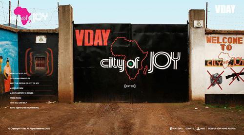 vday new website