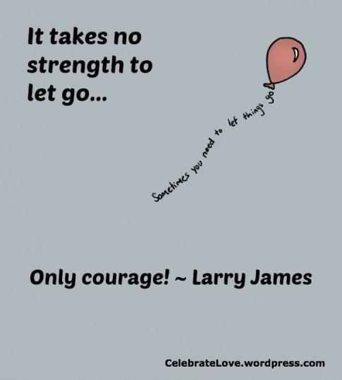 Larry let go