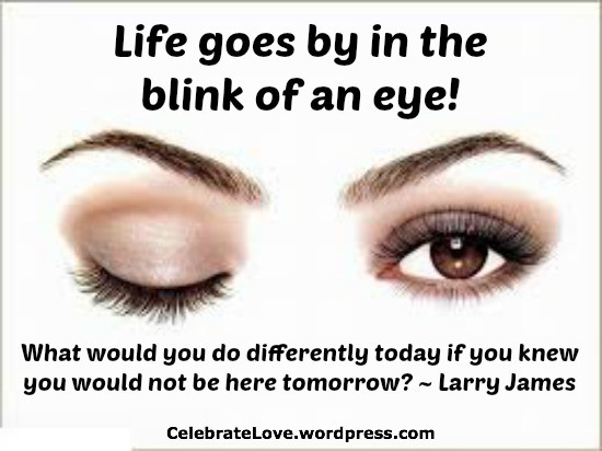 larry blink of an eye