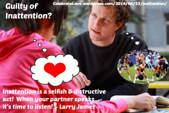 larry inattention
