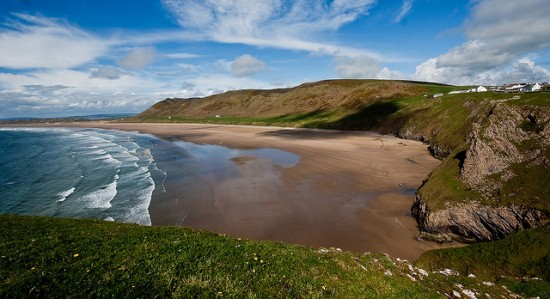 beach Wales Rhossili-Bay-Gower-peninsula-e1403290968792