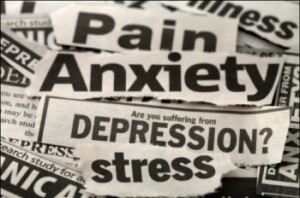depression collage