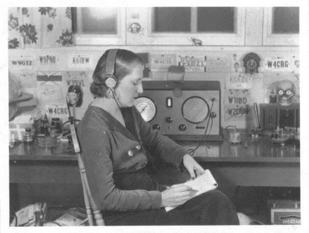 The First Female Ham Radio Operators
