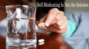 self medicating