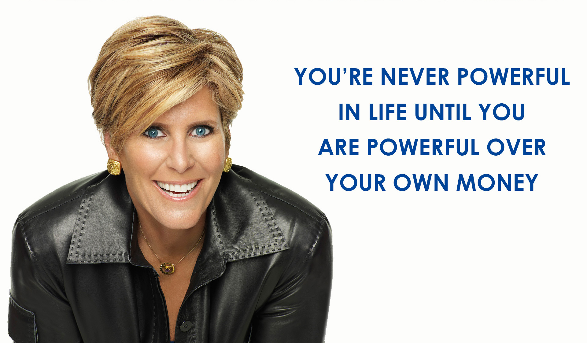 Suze Orman'-s No. 1 tip for succeeding at work