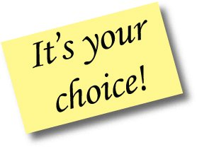 its-your-choice