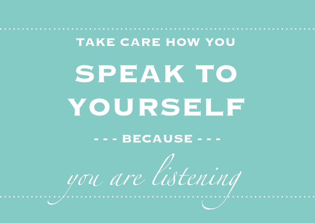 speak to self