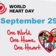 World Heart Day celebrated Sept 29