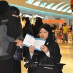 Saudi Arabian Women cast their first votes in the country's history