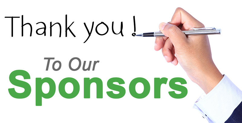 thank sponsors
