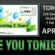 APRIL 13 – TORONTO: WEWednesdays! Celebration