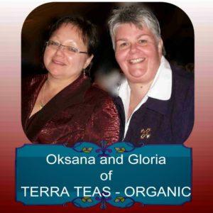 tea ladies oksana and gloria