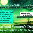 International Women's Day Celebration 2017, MARCH 5