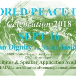 WORLD PEACE DAY Celebration 2018, Toronto, SEPT 16